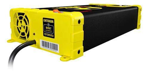 Imagem de Fonte carregador bateria som spark usina smart 200a display
