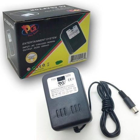 Imagem de Fonte Carregador Game Super Nintendo Snes Bivolt 110V/220V