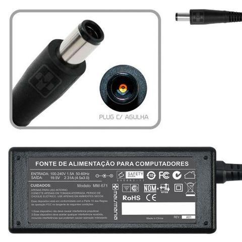 Imagem de Fonte Carregador Para Dell Xps 12 L221x  19.5v 2.31a 671