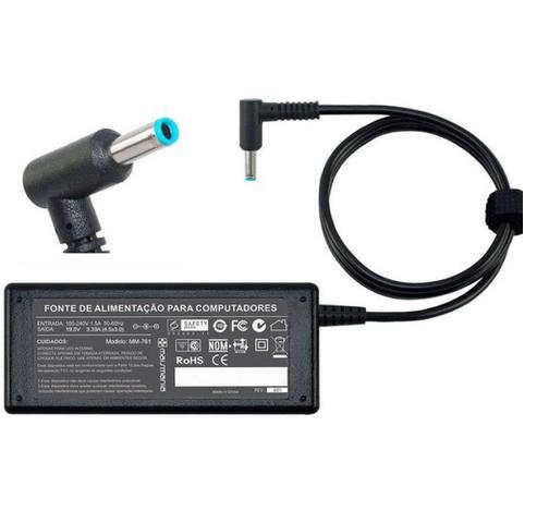 Imagem de Fonte Carregador Ultrabook Hp Pavilion X360 14-d02 Plug 4.5mm Azul