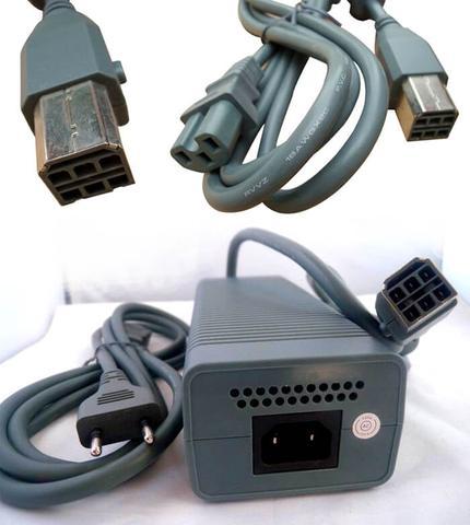 Imagem de Fonte De Alimentação Ac Adaptador Carregador 100 - 127V  Com cabo Para Xbox 360 Fat Arcade Feir GF-003