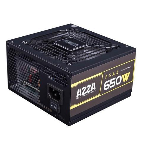 Imagem de Fonte Gamer AZZA 650W 80 PLUS Bronze PFC ATIVO, PSAZ-650W