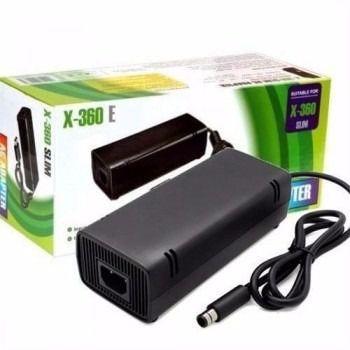 Imagem de Fonte Para Vídeo Game Xbox 360 Super Slim Bivolt 1 Pino