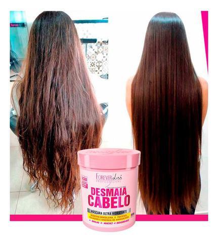 Imagem de Forever Liss - Kit Desmaia Cabelo Shampoo + Máscara 950g