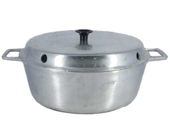 Imagem de Forma de Bolo Pudim Aluminio Fundido Polido N 22 1,8 Litros