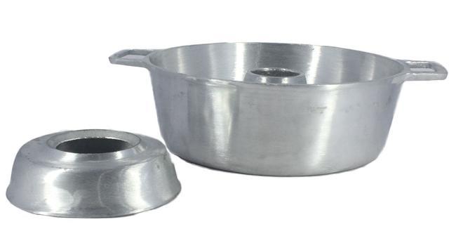 Imagem de Forma de Bolo Pudim Aluminio Fundido Polido N 24 2,7 Litros