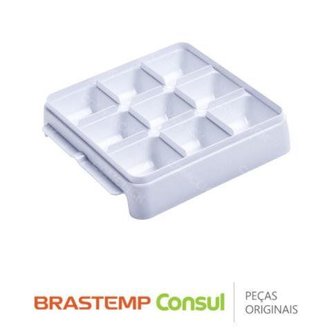 Imagem de Forma de Gelo do Ice Maker W10268050 para Geladeira, Freezer e Frigobar Brastemp Consul