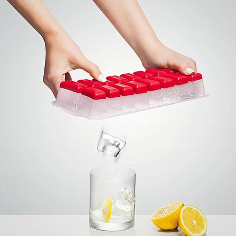 Imagem de Forma de Gelo Plástico com Fundo Silicone Flexível Sanremo