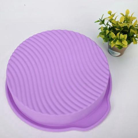 Imagem de Forma De Silicone Assadeira Redonda Bolo Pudim 25cm