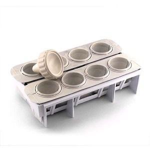 Imagem de Forma Fábrica Coxinhas e Salgados Kit Modelador para Massa Lig Brin 0105