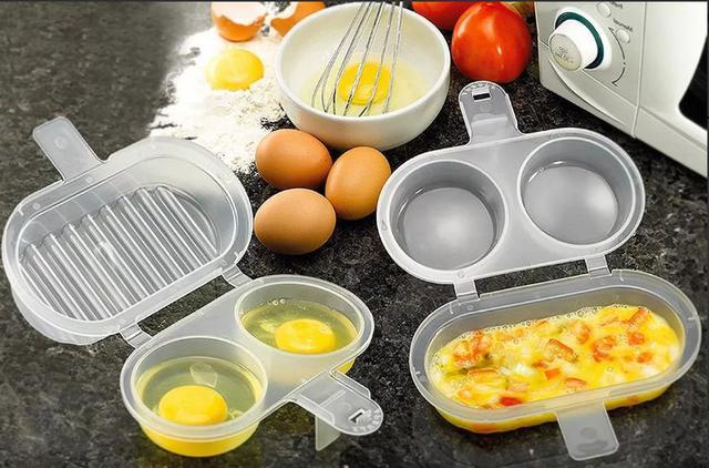 Imagem de Forma para Ovos e Omelete para Microondas