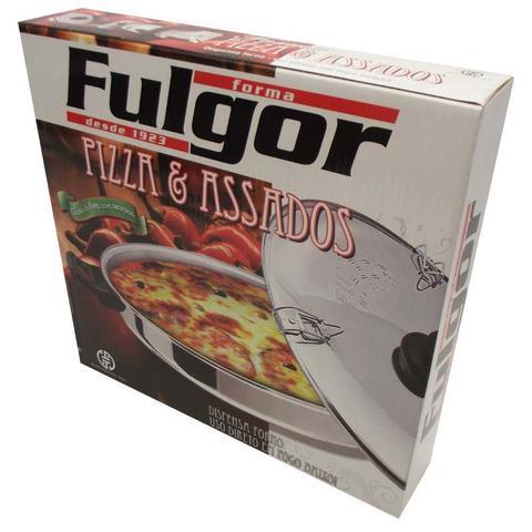 Imagem de Forma Para Pizza Fulgor Aluminio