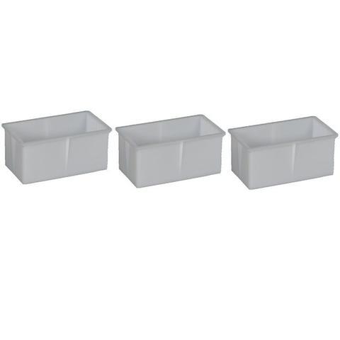 Imagem de Forma Para Queijo Mussarela Requeijão 1kg Pacote Com 3 Unidades