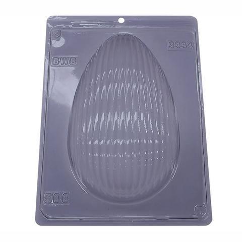 Imagem de Forma PVC Ovo 500g Textura Ondas ref.9334 - BWB
