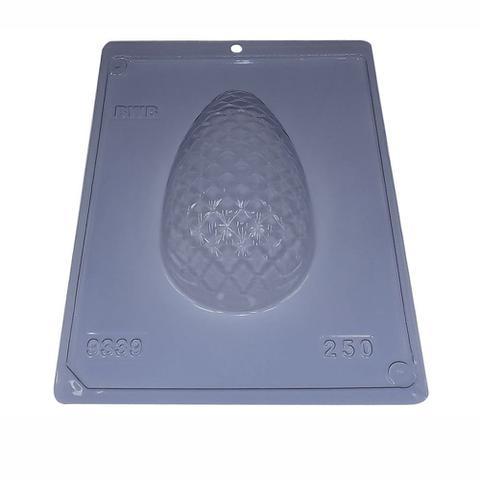 Imagem de Forma PVC Silicone Ovo 250g Textura Matelassê ref.3339 - BWB