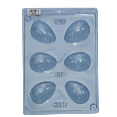 Imagem de Forma PVC Silicone Ovo Liso 50g Ref.846 - BWB