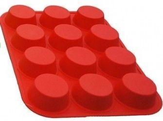 Imagem de Forma Silicone Cupcake 12 Unidades-Petit Gateau Muffins