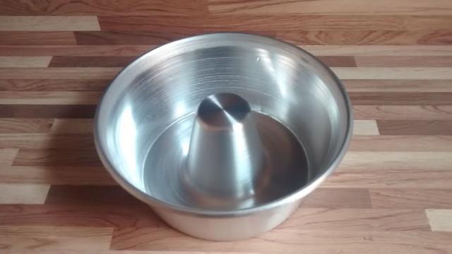 Imagem de Forminha para Pudim Kit com 12 unidades Aluminio