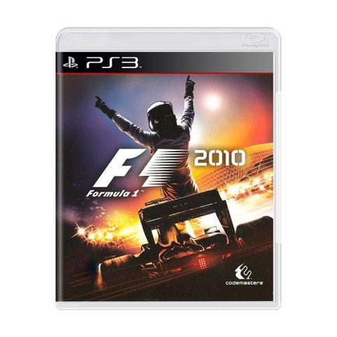 Jogo F1 2010 - Playstation 3 - Codemasters