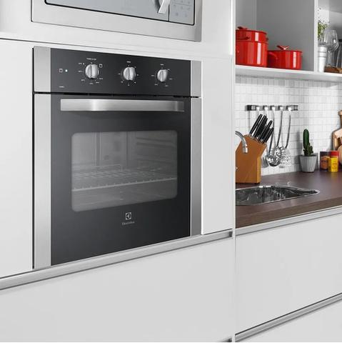 Imagem de Forno a Gás de Embutir Electrolux 73 Litros Inox 220V OG8MX 53801GBA289