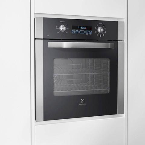 Imagem de Forno a Gás de Embutir Electrolux Touch Inox 73L 220V OG8DX