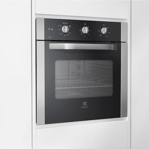Imagem de Forno de Embutir a Gás Electrolux 73 Litros Inox OG8MX  220 Volts