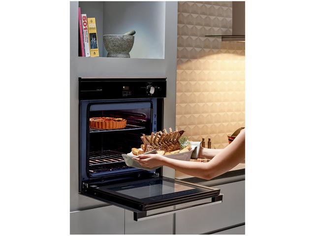 Imagem de Forno de Embutir a Gás GLP Brastemp Grill