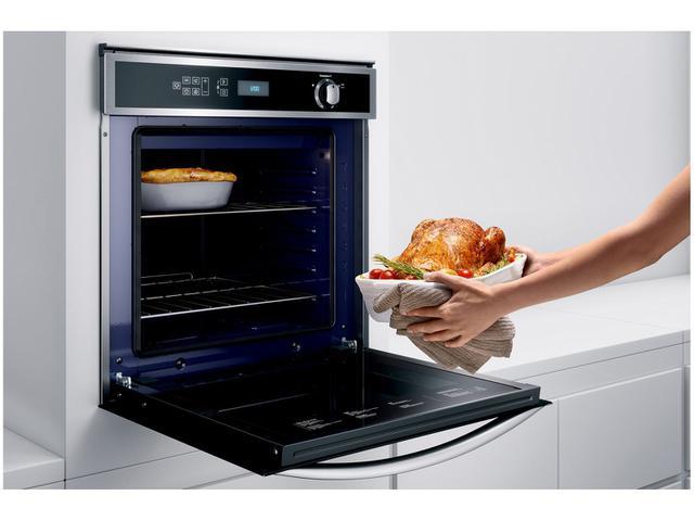 Imagem de Forno de Embutir a Gás GLP Brastemp Inox Grill 78L