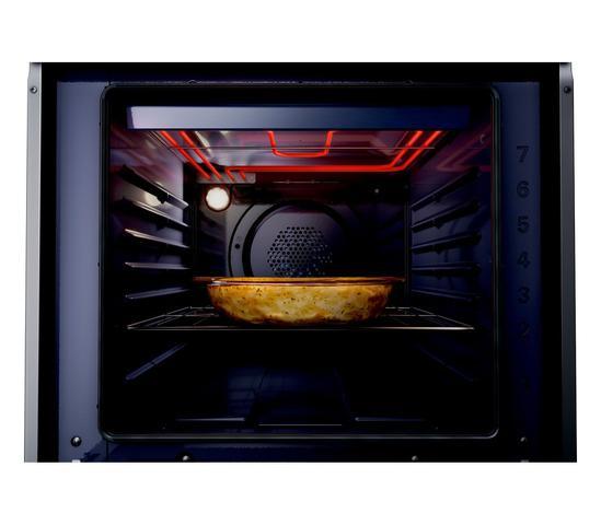 Imagem de Forno de Embutir Elétrico Brastemp 84 Litros Cor Inox com Convecção e Termômetro Meat Control - BOT84AR
