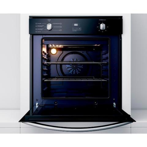Imagem de Forno de Embutir Elétrico Brastemp 84 Litros Cor Inox Espelhado com Convecção e Timer Touch   - BOC84AR