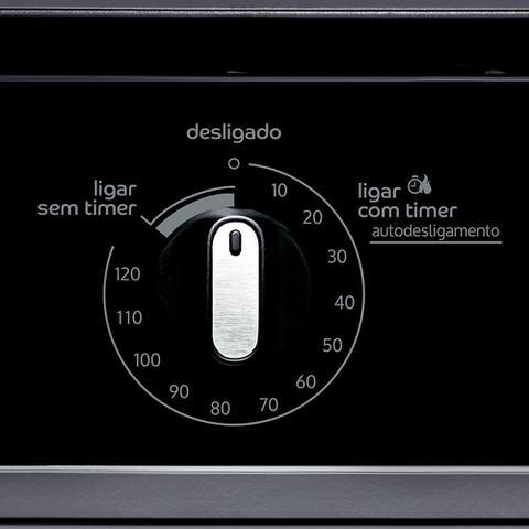 Imagem de Forno de embutir elétrico Consul 84 litros prata com Grill e Timer Autodesligamento - COB84AR