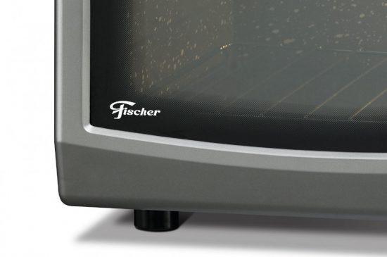 Imagem de Forno Elétrico De Bancada 44 Litros Fischer Gourmet Grill Prata 220V