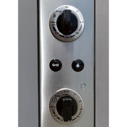 Imagem de Forno Elétrico de Embutir Nardelli N450 Espelhado 45L 127V 10016339/12