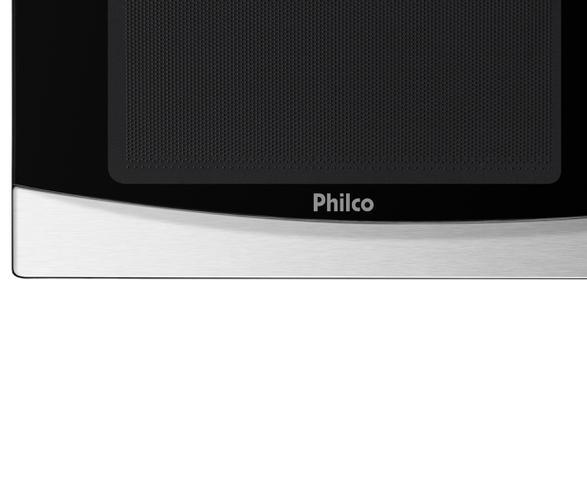 Imagem de Forno Elétrico de Embutir Philco 46L 110v + Microondas Philco PMO26 Inox 26L Menu Fit 110v