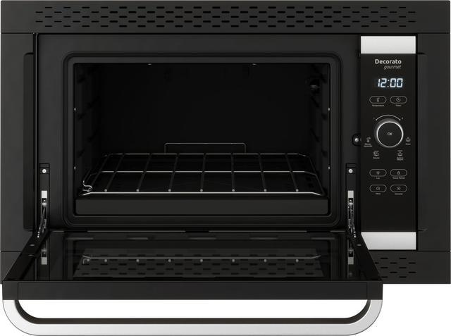 Imagem de Forno elétrico digital de embutir decorato gourmet preto 44 litros 220v