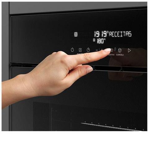 Imagem de Forno Eletrico Electrolux com Grill 220V - OE9VT + Micro-ondas 34 Litros de Capacidade e Grill Preto 220V - MV43T