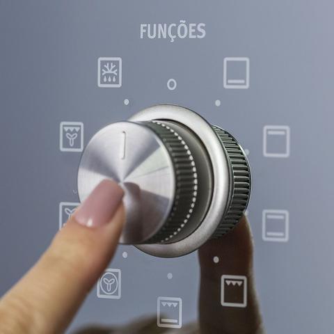 Imagem de Forno Elétrico Electrolux de Embutir 80L Inox Blue Touch com Grill e Convecção (OE8DX)