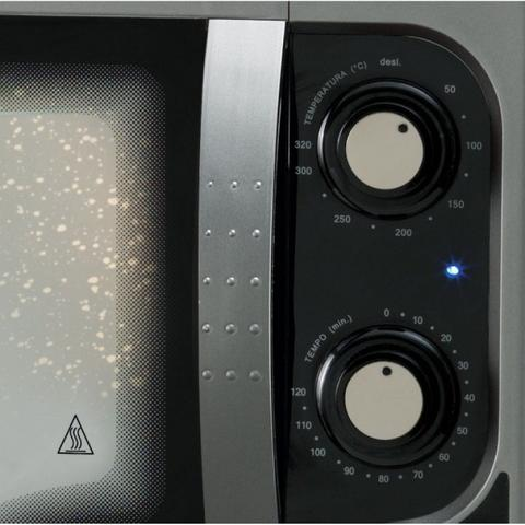 Imagem de Forno Inox Elétrico de Bancada Gourmet Grill 44L 220V Fischer Cinza