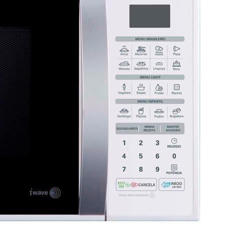 Imagem de Forno Micro-ondas LG 30L MS3052R, 16 receitas Pré-programadas, 800W - 220V