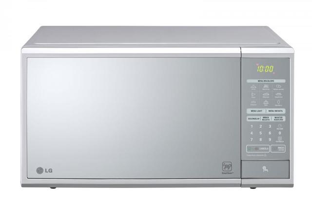 Imagem de Forno Micro-ondas LG MS3059L 30L EasyClean Espelhado Prata