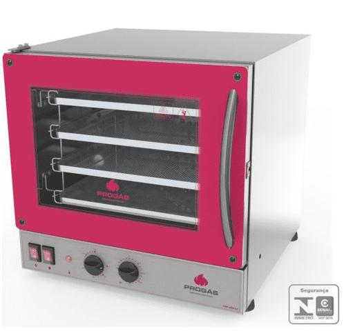 Imagem de Forno Turbo Elétrico 4 Esteiras Fast Oven - Progás (40x35) - 220v