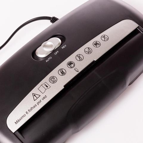 Imagem de Fragmentador Triturador Picador Cortador De Papel 601SB 110v
