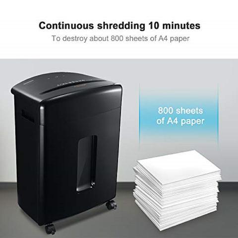 Imagem de Fragmentadora de papel em partículas 15 folhas 20 litros 110v C-221A