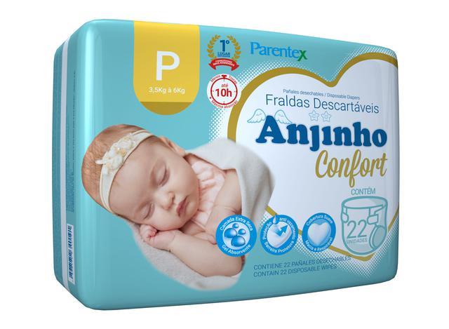 Imagem de Fralda Anjinho Confort Tam. P c/ 22 unidades Parentex
