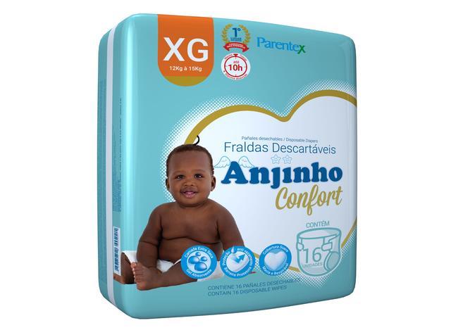 Imagem de Fralda Anjinho Confort  Tam. XG c/ 16 unidades Parentex