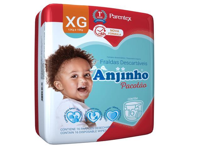 Imagem de Fralda Anjinho Pacotão Tam. XG c/ 16 unidades Parentex