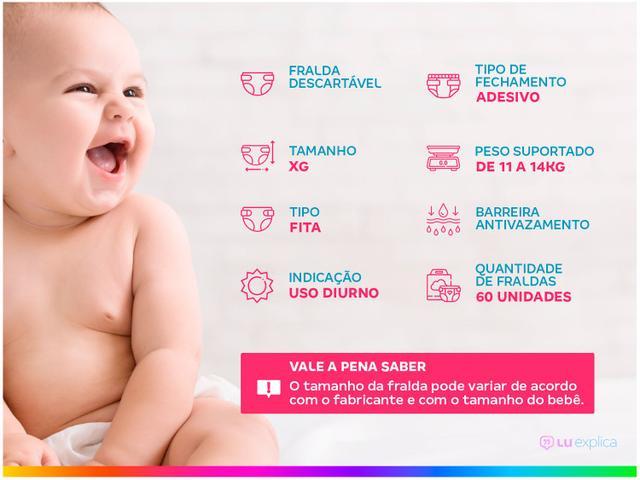 Imagem de Fralda Babysec Ultrasec Galinha Pintadinha Tam. XG