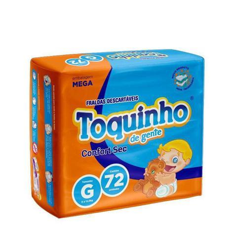 Imagem de Fralda Descartável Infantil Toquinho Confort Sec Mega G C/72
