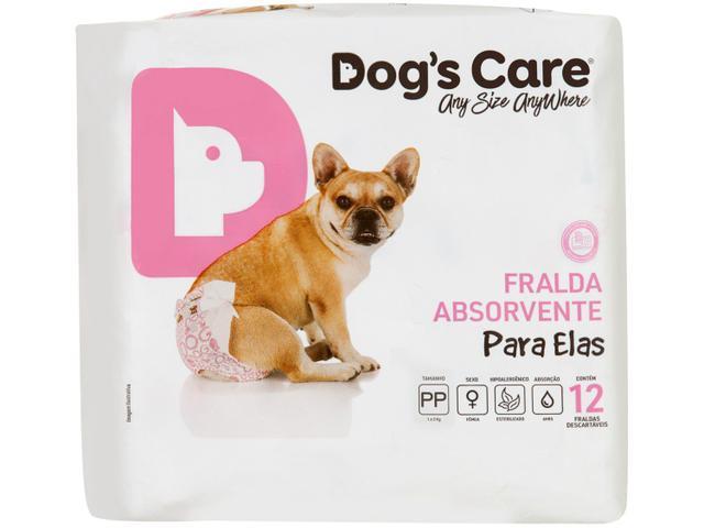 Imagem de Fralda Descartável para Cachorro Fêmea PP
