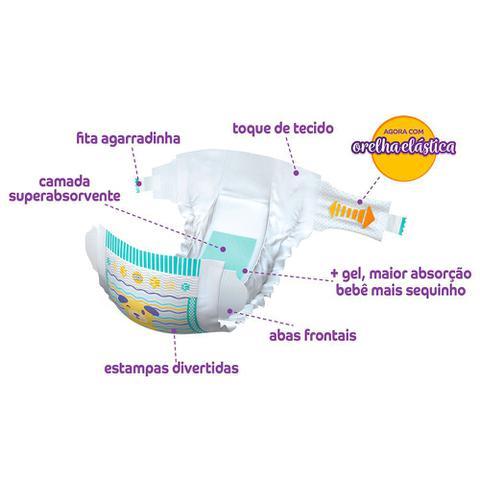 Imagem de Fralda Descartável Pom Pom Protek Baby Econômica M - 30 Unidades